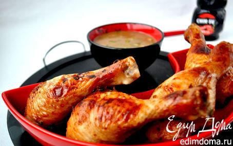 Рецепт Маринованные в мисо куриные ножки на гриле.