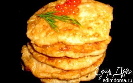 Рецепт Оладьи оригинальные из... лососевых молок.