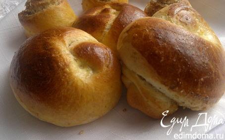 Рецепт Сладкие булочки на завтрак