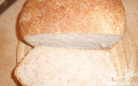 Рецепт Домашний хлеб с цельнозерновой мукой