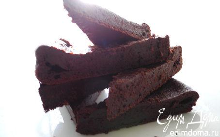 """Рецепт """"Шокошок """" или торт шоколадный без муки (Torta di cioccolato senza farina)"""