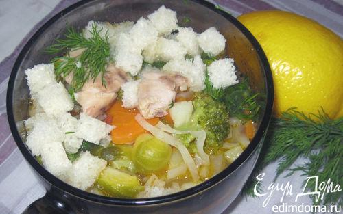 Рецепт Диетический куриный суп