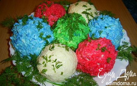 Рецепт Новогодние шарики