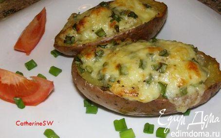Рецепт Фаршированный картофель в мундире