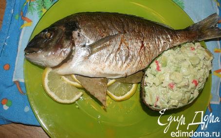 Рецепт Дорада с лимоном
