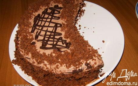 Рецепт торт Дежавю (шоколадный с масляным кремом)