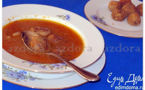Рецепт Суп из бычьего хвоста с хлебными клёцками