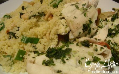 Рецепт Рыбка с мятным соусом