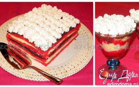 Рецепт Zuppa inglese - десерт и торт на его основе
