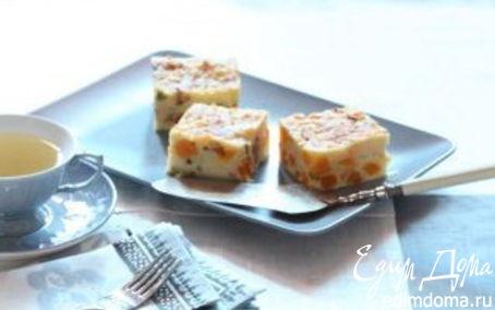 Рецепт Манная запеканка с апельсином