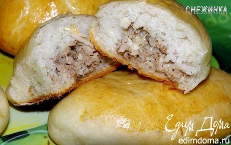 Рецепт Пирожки с мясом и капустой, и «Пирожковый дракон»