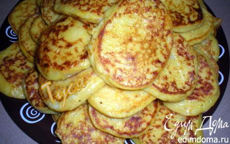 Рецепт Картофельно-тыквенные оладьи