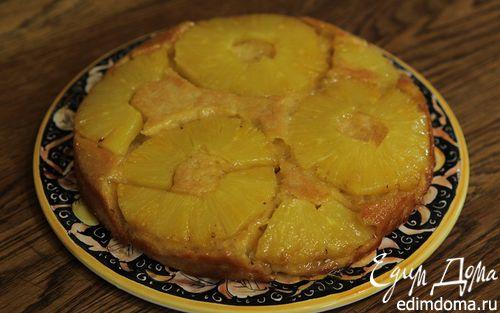 Рецепт Ананасовый пирог-перевертыш