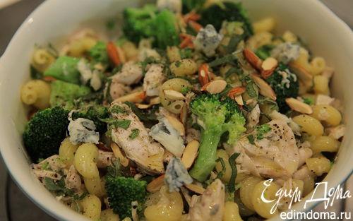 Рецепт Бантики с курицей и брокколи