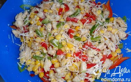 Рецепт Салат из куриного филе