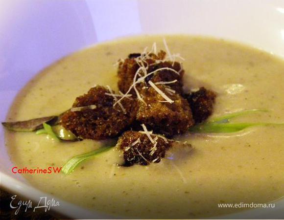 суп из лука порея рецепт с грибами