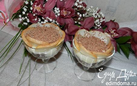 Рецепт Шоколадное тирамису с грушей