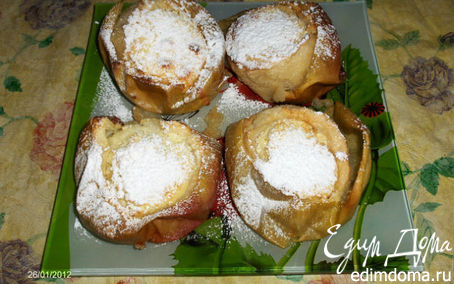 Рецепт Яблочный десерт от Ирины Браим