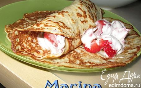 Рецепт Блины на завтрак
