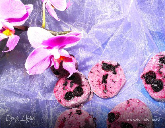 Фиолетовое печенье от Yolka