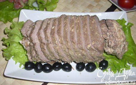 Рецепт Рулет из говядины с куриной начинкой