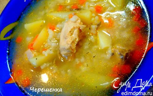Рецепт Суп из лосося