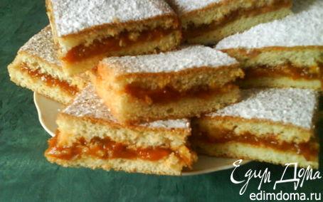 Рецепт Абрикосовый бисквит