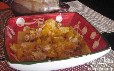 Рецепт Каша из тыквы с изюмом в горшочках