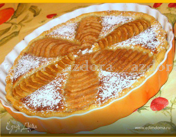 Миндально-грушевый тарт