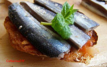 Рецепт Маринованные сардины с томатным соусом