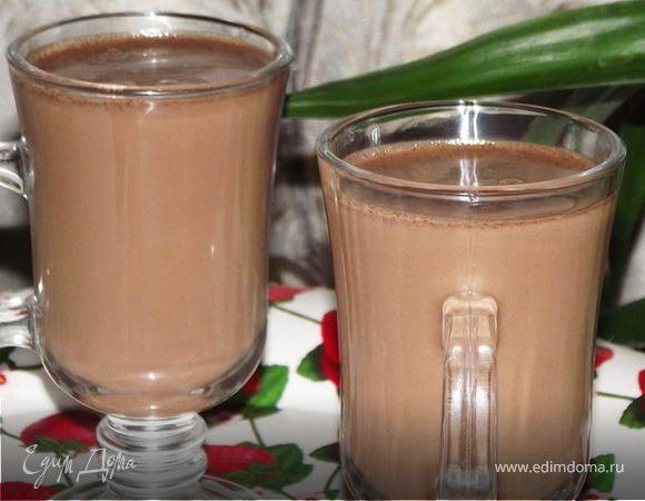 Шоколадно -апельсиновый напиток