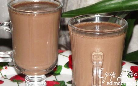Рецепт Шоколадно -апельсиновый напиток