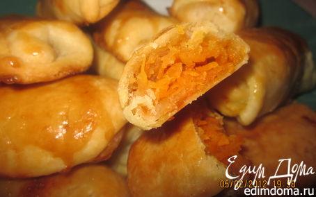 Рецепт Конвертики с морковкой и яблоком