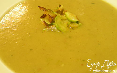 Рецепт Суп-пюре с цукини (кабачками) и карри