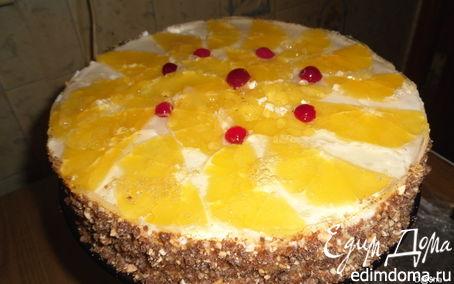 Рецепт Торт-пирожное «Нежность»