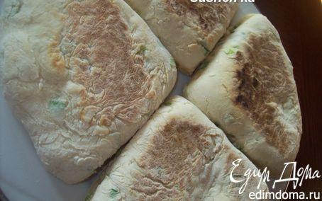 Рецепт Ирландские лепешки с зеленым луком