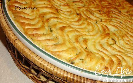 Рецепт Картофельная запеканка с мясной начинкой