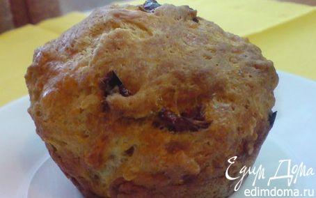 Рецепт Маффины с сыром и вялеными помидорами