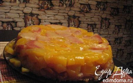 Рецепт Запеканка из тыквы с рисом и яблоками
