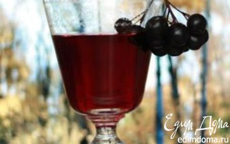 Рецепт Наливка из черноплодки