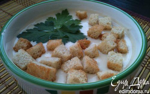 Рецепт Фасолевый суп со сливочным сыром