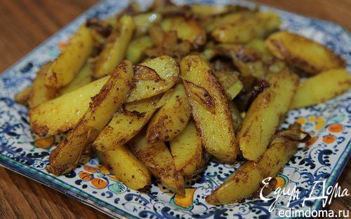 Рецепт Запеченная картошка с пряностями