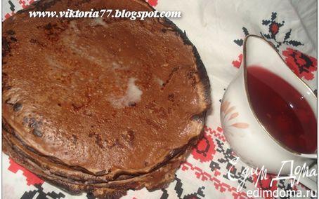 Рецепт Готовимся к Масленице 2 (сдобные блины, шоколадные блины)