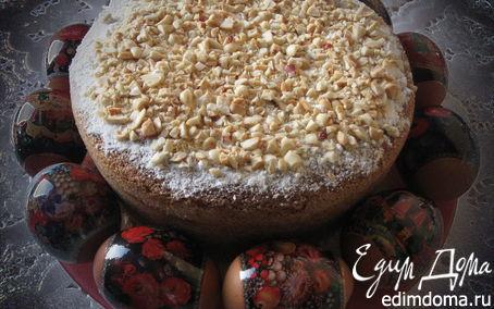 Рецепт Кулич из манно-молочного бисквита