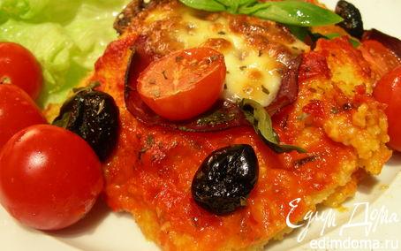 Рецепт Пицца из поленты