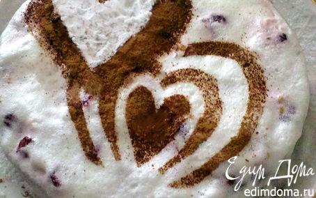 Рецепт Брауни под сметанно-сливочным кремом в аэрогриле