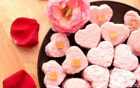 """Рецепт Бисквитные пирожные """"Вишневое Сердце"""" в аэрогриле"""