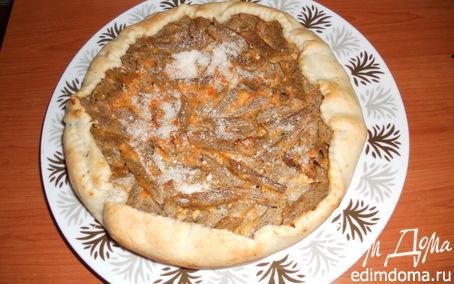 Рецепт Пирог из макарон