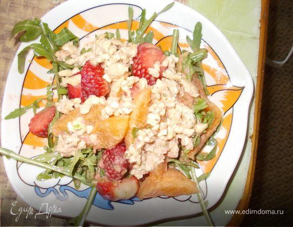 Мандариновый салатик