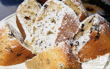 Рецепт Кекс с мармеладом и изюмом